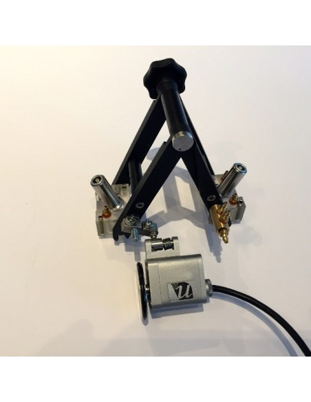 TOFD Scanner with wheel encoder